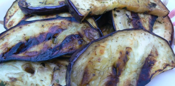 Grilled Eggplant With Fresh Herbs