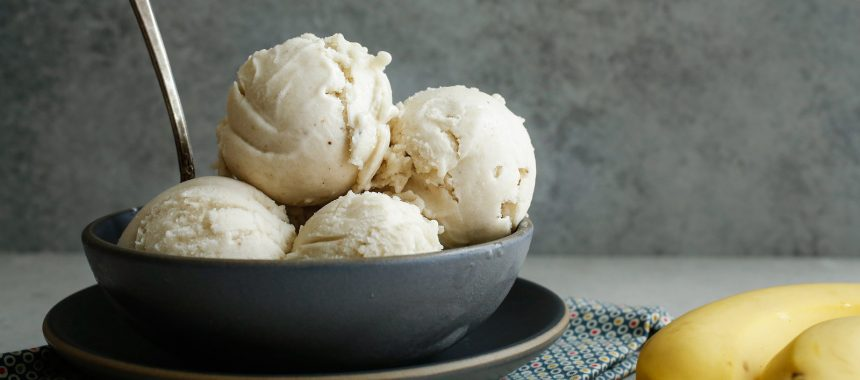 Banana Honey Ice Cream