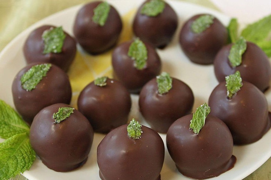 Fresh Mint Truffles