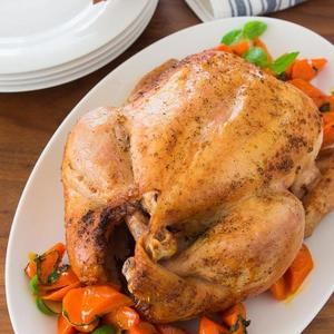 Roast Chicken With Crispy Skin