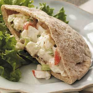 Seafood Salad Pitas Recipe 5