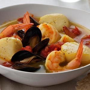 Spiced Seafood Stew