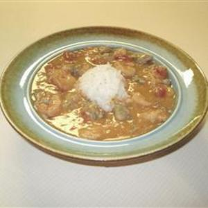 Mobile Bay Seafood Gumbo