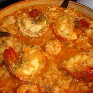 Northwest Seafood Paella Recipe