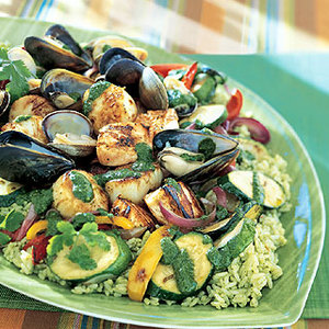 Seafood Salad With Cilantro Dressing Recipe