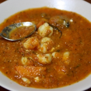Seafood Cape Verde Chowder© 2011 Recipe