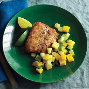Fish with Mango Relish