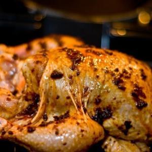 Cinnamon Harissa Roast Chicken (Turkey)