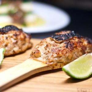 Chicken Tsukune (Japanese Chicken Sausage)