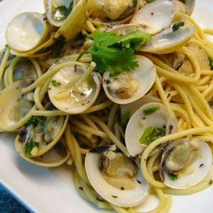 First date Pasta with Clams